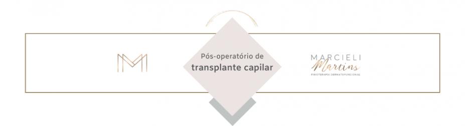 Pós-operatório de transplante capilar