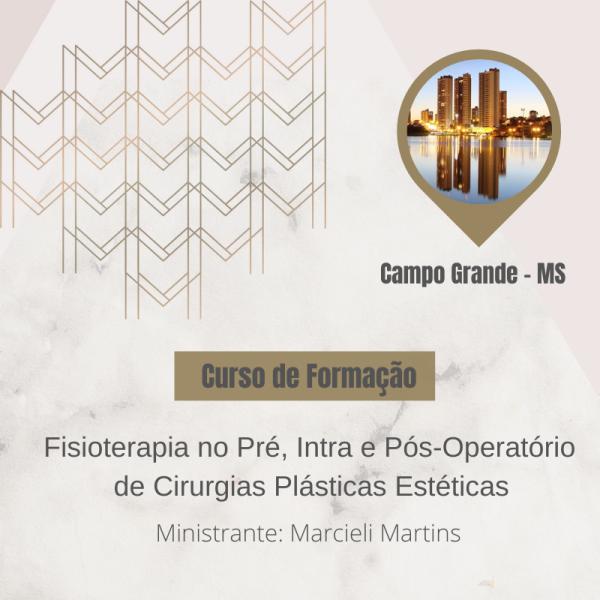 curso cirurgia plastica Campo Grande